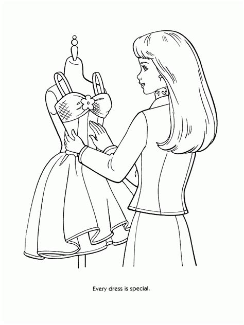 Fashion Coloring Pages Printable Coloring Home