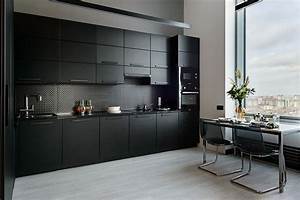 Beautiful, Black, Kitchens, 20, Exquisite, Ideas, And, Inspirations, Cutting, Across, Styles