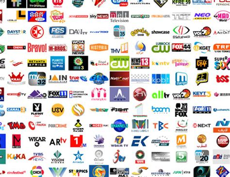 Massive Collection Of Tv Channel Logos