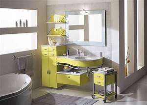 Deco Salle De Bain Gris : d co salle de bain jaune et gris ~ Farleysfitness.com Idées de Décoration