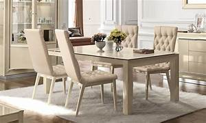Esstisch Stühle Beige : essgruppe la star beige hochglanz ~ Frokenaadalensverden.com Haus und Dekorationen