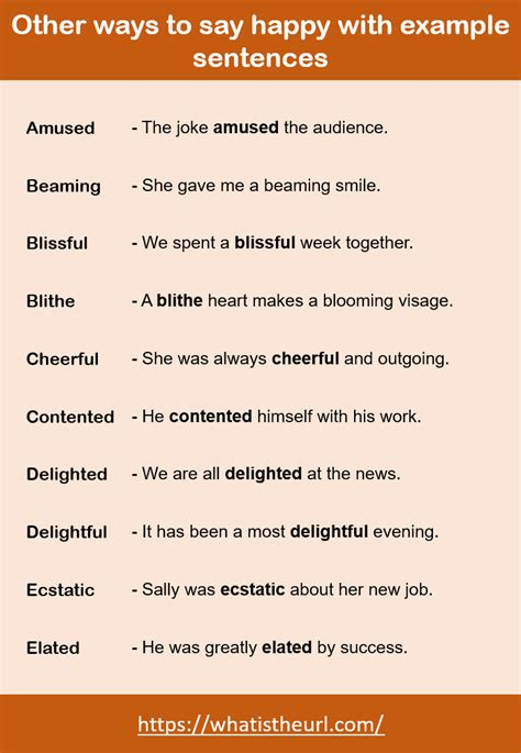 ways   happy   sentences  home