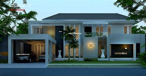 desain rumah minimalis modern  lantaijpg