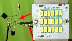2 Superb Automatic On Off Led Light Projects Without Relay