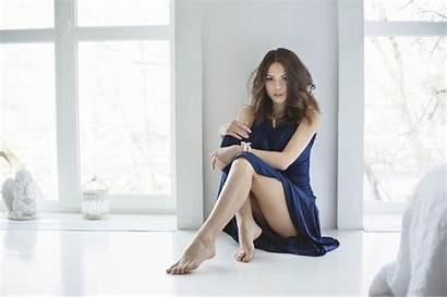 Catherine Timokhina Woman Legs Maximov Maxim Upskirt
