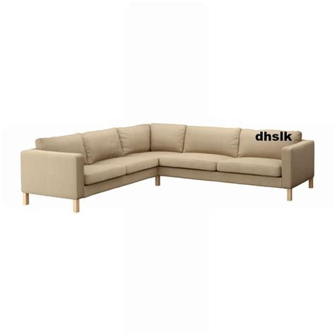 ikea karlstad corner sofa slipcover 2 3 3 2 cover lindo