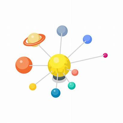 Solar System Clip 3d Vector Astronomy Lesson