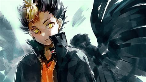 haikyuu yu nishinoya   wallpaper