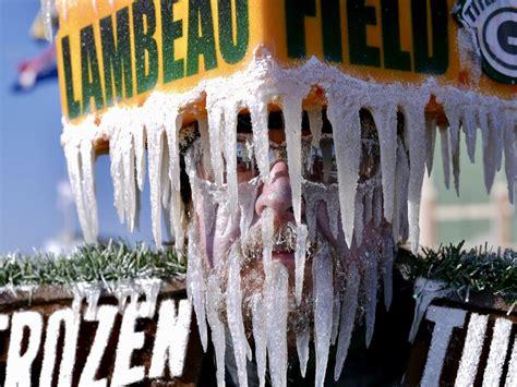frozen tundra man packerland pride