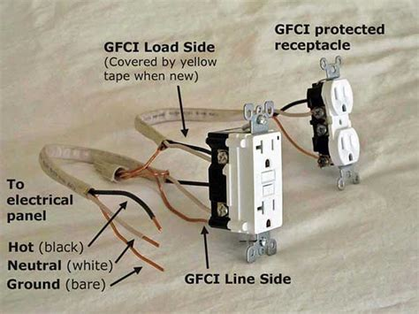 Gfci Load Wiring Electrical