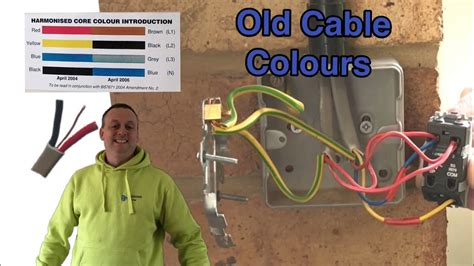 Old Cable Colours Pre Way Switching Feed