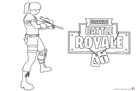 Fortnite Robot Kleurplaat by Fortnite Coloring Pages Fortnite Battle Royale Free