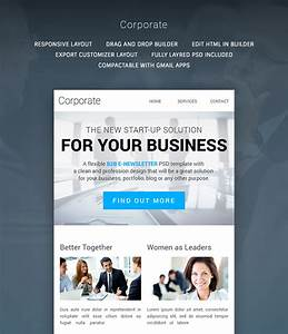 corporate multipurpose b2b newsletter buy premium With mymail newsletter templates