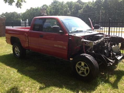 2001 Dodge Ram 1500 Parts by Purchase Used 2001 Dodge Ram 1500 4x4 Sport Restore Or
