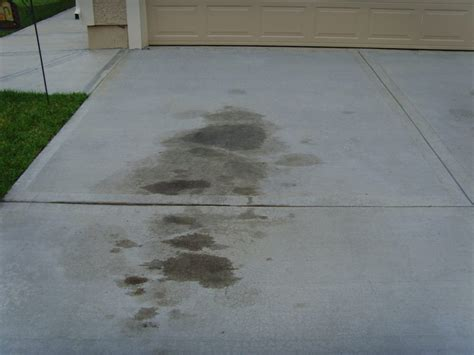 how to remove stains from garage floor how to remove grease and stains from your garage floor