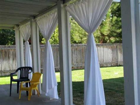 outdoor curtains  porch  patio designs  summer