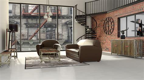 chambre style vintage chambre ado style industriel
