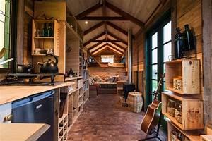 Tiny Houses De : cette tiny house camion faite avec de mat riaux de r cup ration fait r ver ~ Yasmunasinghe.com Haus und Dekorationen