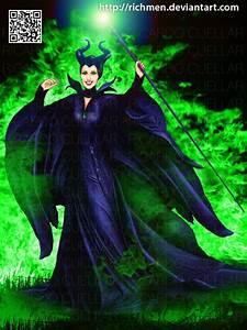 Maleficent Disney Angelina Jolie by Richmen on DeviantArt