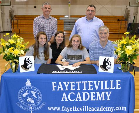 anna perko signs wofford fayetteville academy private