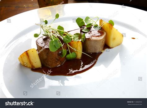 cuisine haute haute cuisine stock photo 112866553