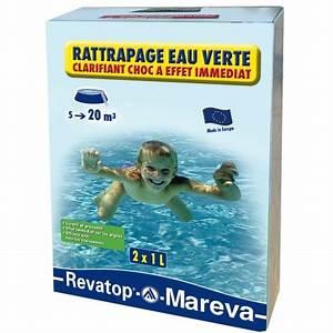 Traitement Choc Piscine : traitement choc rattrapage eau verte ~ Carolinahurricanesstore.com Idées de Décoration