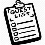 Guest Icon Invitation Engagement Icons Data Planning