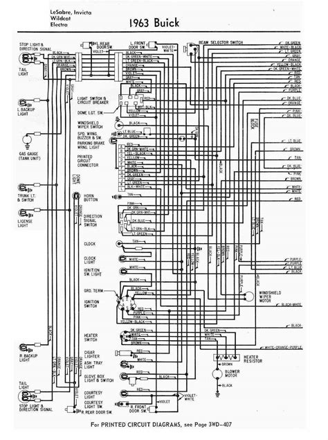 1991 Lincoln 7 Wiring Diagram by Circuit Diagram Of 1963 Buick Lesabre Auto Wiring Diagram