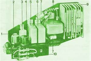 1971 Porsche 911 Relay Switch Fuse Box Diagram  U2013 Circuit