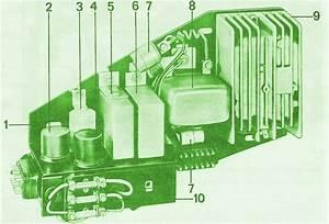 1971 Porsche 911 Relay Switch Fuse Box Diagram