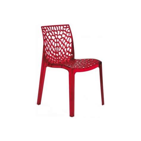 chaises rouges table rabattable cuisine chaises