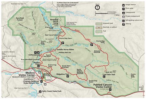 website offers national parks maps   adventure