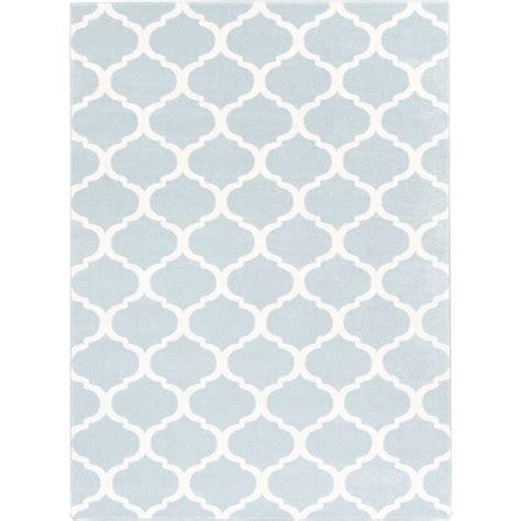 Horizon Rug by Horizon Rug Light Blue Staged For Upsell