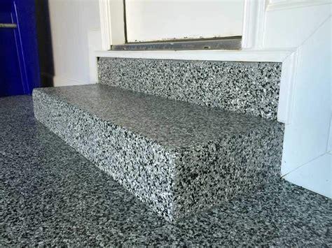 garage floor paint steps arlington va garage enhanced by epoxy coating