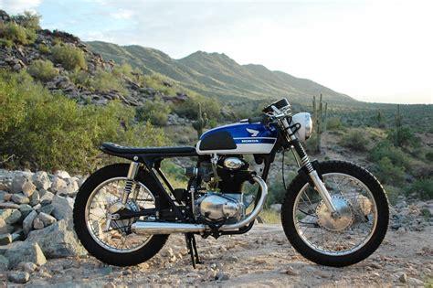1969 honda cl350 cafe racer