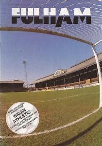 Fulham v Wigan Athletic - Div 3 1988 - Football Programme ...