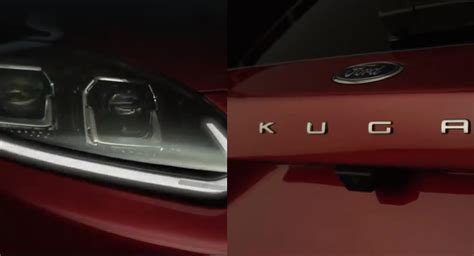 All-new Ford Kuga Compact Suv Teased, Will Debut On April