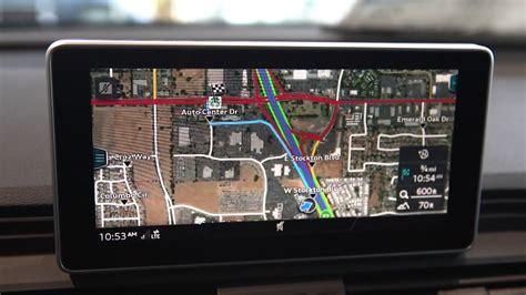 audi  navigation functions youtube