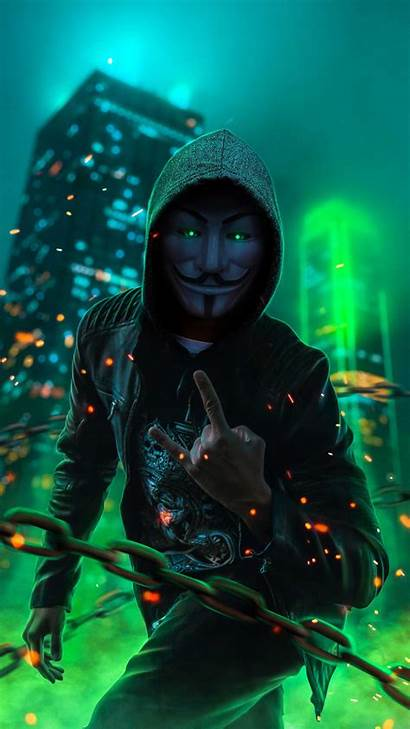 Mask Joker Guy Iphone Anonymous Neon Vendetta