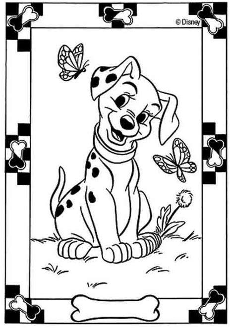 Kleurplaat 101 Dalmatiers by 101 Dalmatiers Kleurplaten Lisenka Nl