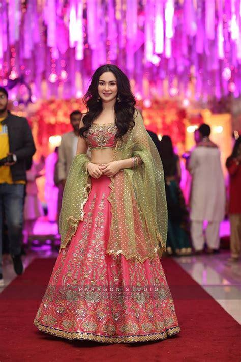 hania amir  asim azhar   wedding event  lahore