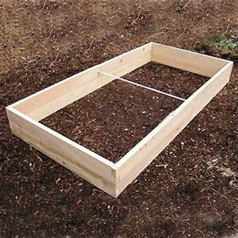 raised garden bed kit cedar raised bed garden bed kits 4 x8