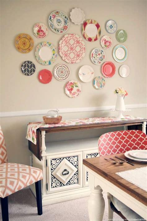 ideas  decorar paredes  platos