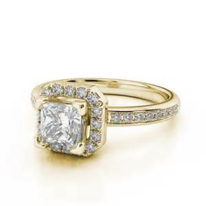 yellow gold princess cut wedding rings beautiful and