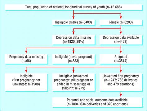 depression  unwanted  pregnancy longitudinal