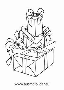 Weihnachtsgeschenke Zum Ausmalen : ausmalbilder geschenke f r weihnachten ~ Watch28wear.com Haus und Dekorationen