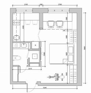 4, Super, Tiny, Apartments, Under, 30, Square, Meters, Includes, Floor, Plans