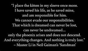 Sandman Quotes.... Sandman Overture Quotes