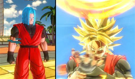 Dragonball Online Super Saiyan Hairstyles Youtube Trunks