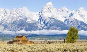 Grand Teton Mountains In Wyoming